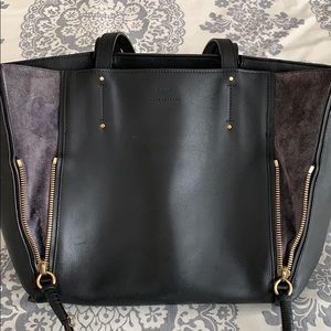 CHLOE Medium MILO Calfskin Leather Tote